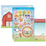 Fun on the Farm Luxury Topper Set